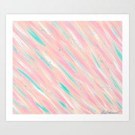 Pastels, Bubbles, & Dots Art Print