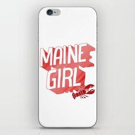 Maine Girl iPhone Skin
