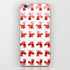 Peppermint Unicorns iPhone & iPod Skin