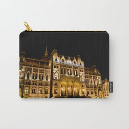 Parliament building in Budapest, capital of Hungary. Carry-All Pouch