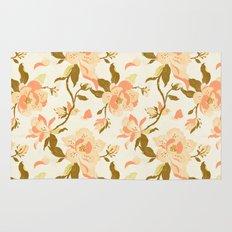 Magnolia Pattern Rug