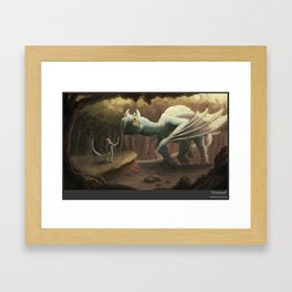 Unamused Framed Art Print