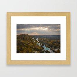 Holy Mountains Monastery (Ukraine) Framed Art Print