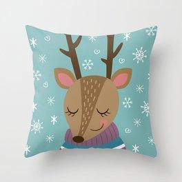 Merry xmass Throw Pillow