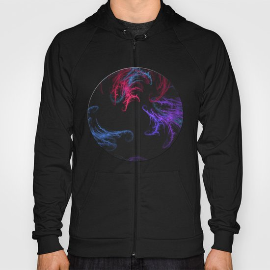 Cool Winds Abstract Hoody