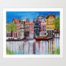 Beautiful Amsterdam Art Print