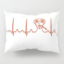 Plastic Surgeon Heartbeat Pillow Sham