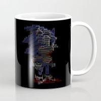 sonic Mugs featuring Sonic by Anastase Kyriakos