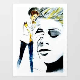 She's That Voice In Your Head Art Print