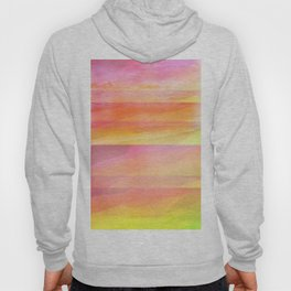 Seascape in Shades of Yellow and Peach Hoody