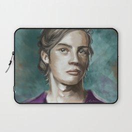 Man in purple Laptop Sleeve