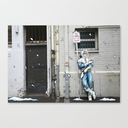 Living in the Material World: CAPTAIN COLD Canvas Print