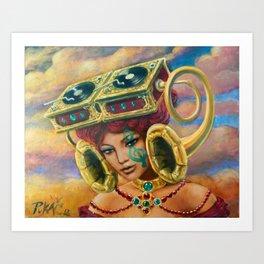 Ramophone Art Print