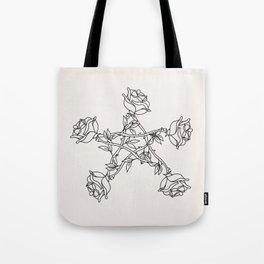 Rose Pentacle Tote Bag