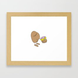 what time is it Framed Art Print