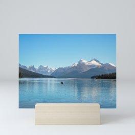 Serenity at Lake Maligne Mini Art Print