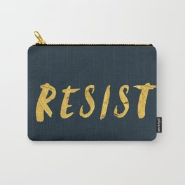RESIST 6.0 - Freedom Gold on Navy #resistance Carry-All Pouch