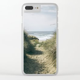 To The Beach Clear iPhone Case