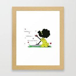 Ladybug, Ladybug Fly Away Home... Framed Art Print