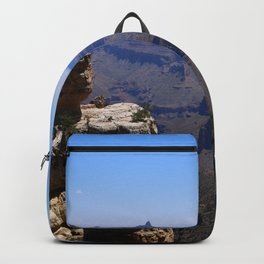 Duck On A Rock - A Scenic Grand Canyon View Backpack