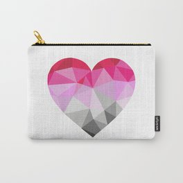 Poster Heart Carry-All Pouch