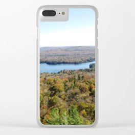 Above The Fall Clear iPhone Case