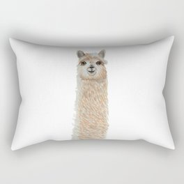 Tall blonde alpaca Rectangular Pillow