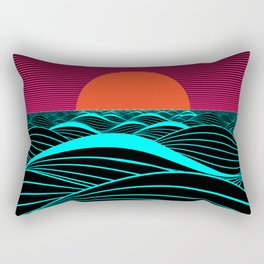 Don't let the sun go down on me Rectangular Pillow