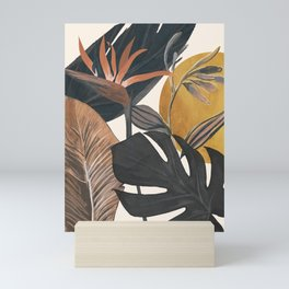 Abstract Tropical Art III Mini Art Print