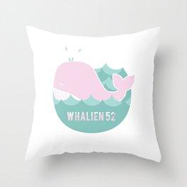 Whalien 52 Throw Pillow