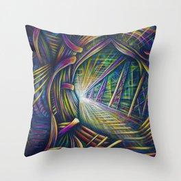 Bright Future Throw Pillow