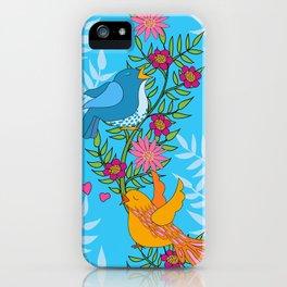 Sweet Lovey Birdies iPhone Case