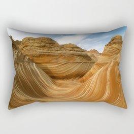 The Wave-Paria Wilderness Rectangular Pillow