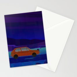 Driving home, Lancaster Stationery Cards