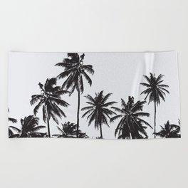 Palm 05 Beach Towel