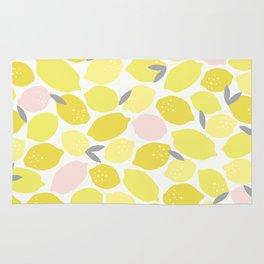 Pink Lemonade Print Rug