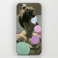 coco iPhone & iPod Skins featuring Coco by Naomi Vona