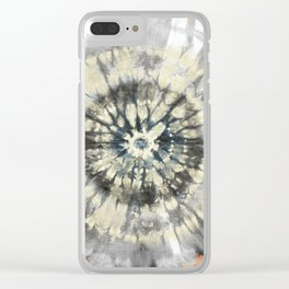 LA ROUE MOROCCAN PATTERN MANDALA ABSTRACT Clear iPhone Case