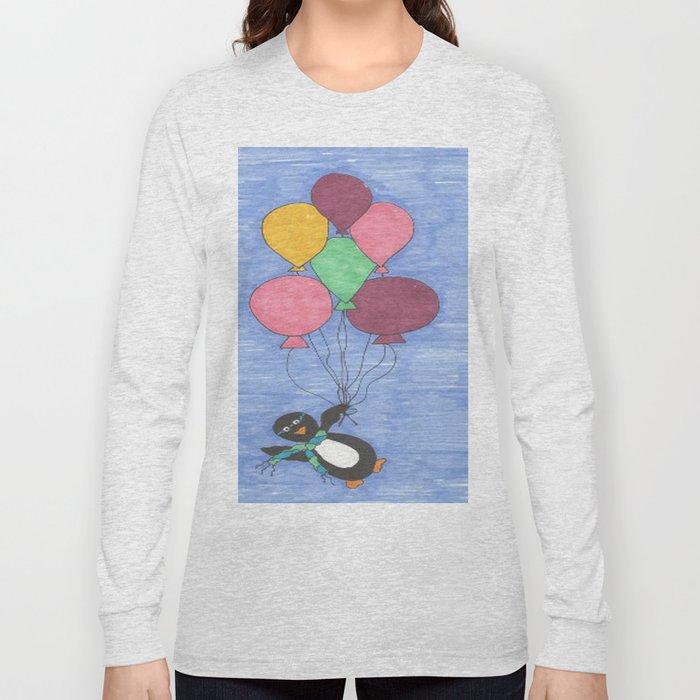 When Penguins Fly Long Sleeve T-shirt