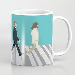 The tiny Abbey Road Coffee Mug