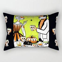 The Swankiest Halloween Party Rectangular Pillow
