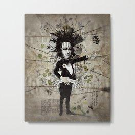 Mr. Hungry Metal Print