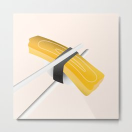 Minimal Sushi Illustration 02 Metal Print