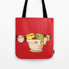 Head Spinners Tote Bag