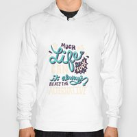 paper towns Hoodies featuring Paper Towns: It Beats The Alternative by Risa Rodil