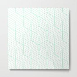 ZADA ((seafoam green)) Metal Print