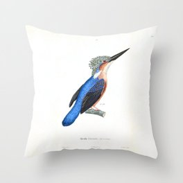 The King Fisher Throw Pillow