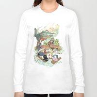chihiro Long Sleeve T-shirts featuring Chihiro by Alba Palacio