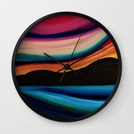 Sweeping down to the sea Wall Clock