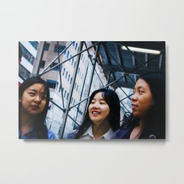 Girls on Fifth Avenue Metal Print